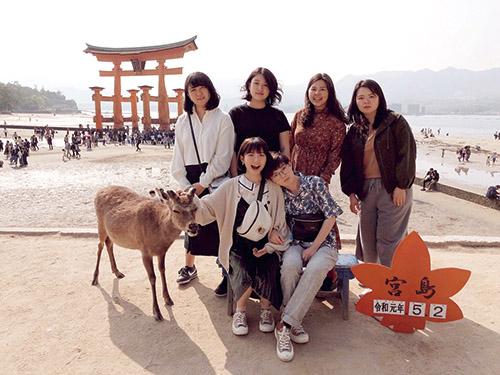 關西外語專門學校 日本語課程 莊爾如